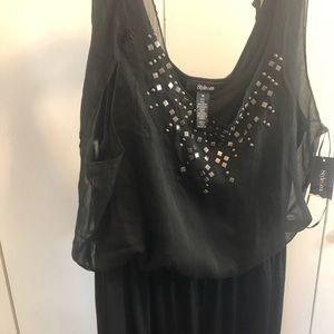 Style&Co black jumpsuit size medium & Large NWT